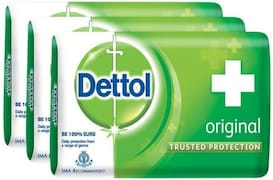 Dettol Original Bar Soap (225GM, Pack of 3)