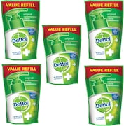 Dettol Original Everyday Protection Liquid Hand Wash (175ML, Pack of 5)
