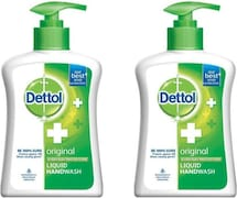Dettol Original Everyday Protection Liquid Hand Wash (200ML, Pack of 2)