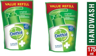Dettol Original Everyday Protection Liquid Hand Wash (175ML, Pack of 2)