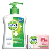 Dettol Original Liquid Hand Wash Jar (215ML)