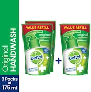 Dettol Original Liquid Hand Wash Refill (350ML, Pack of 2)