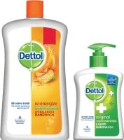 Dettol Original Liquid Soap Jar (900ML, Pack of 2)
