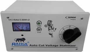 Rahul P-Zone C 2 Autocut Voltage Stabilizer (Grey)