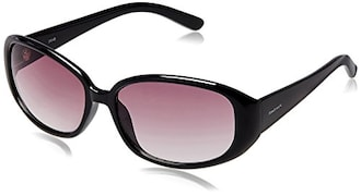 Fastrack P185PR2F Oval Sunglasses (Purple, Free Size)