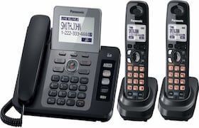Panasonic PAKXTG9472 Corded Landline Phone (Black)