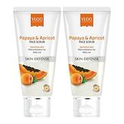 VLCC Papaya & Apricot Scrub (10ML)