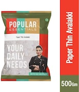 Popular Essentials Paper Thin Avalakki Poha (500GM)