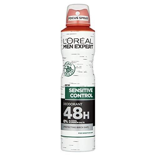 Loreal Paris Men Expert Sensitive Control Deodorant (150ML)