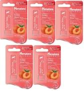 Himalaya Peach Shine Lip Care (4.5GM, Pack of 5)