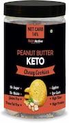 NutroActive Peanut Butter Keto Chewy Cookies (250GM)