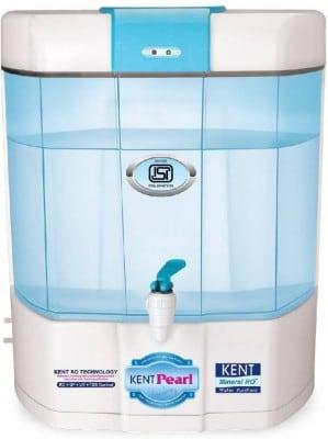 Kent Pearl 11002 8L RO+UV Water Purifier (White)
