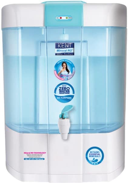 Kent Pearl ZW 8L RO+UV+UF+TDS Water Purifier (White)