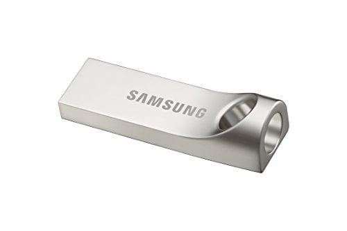 Samsung BAR MUF-64BA/AM USB 3.0 64GB Pen Drive (Silver)