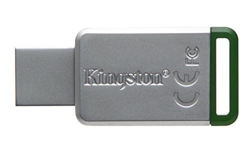 Kingston DataTraveler DT50 USB 3.1 16GB Pen Drive (Silver)