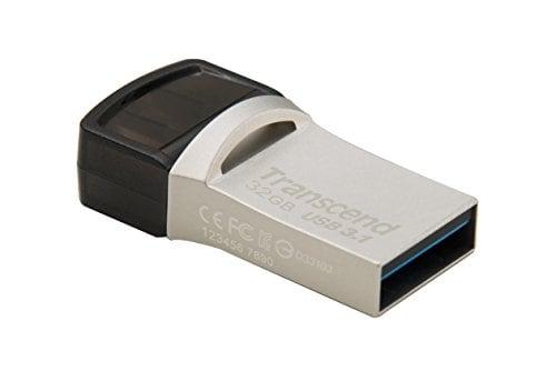 Transcend Jetflash 890S USB 3.1 32GB Pen Drive (Black)