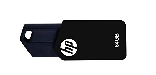 HP V150W USB 2.0 64GB Pen Drive (Black)