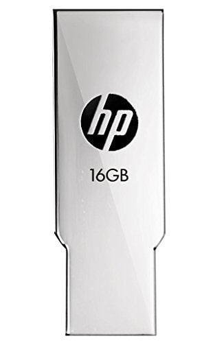 HP V237W USB 2.0 16GB Pen Drive (Silver)