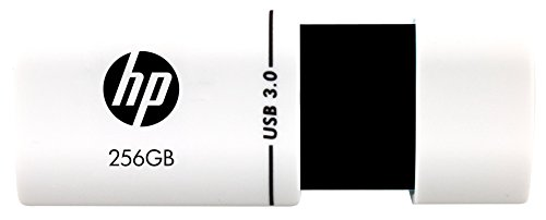 HP X765W USB 3.0 256GB Pen Drive (White & Black)