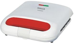 Inalsa Phoenix Toast Sandwich Maker (White & Red)