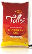 Tulsi Physically Refined 100% Pure Rice Bran Oil (1LTR)