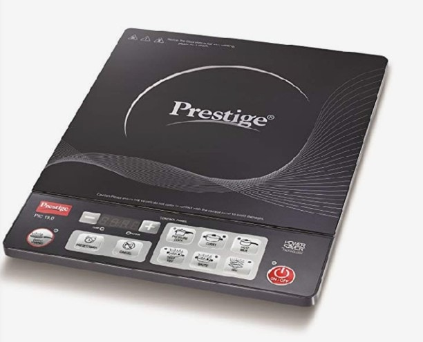 Prestige PIC 19.0 1600 W Induction Cooktops (Black)