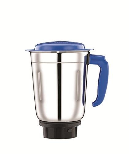Bajaj Pluto 500W Mixer Grinder (White, 3 Jar)