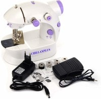 ChillaxPlus Portable Electric Sewing Machine (White)