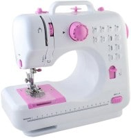 Wonder World Portable Electric Sewing Machine (White)