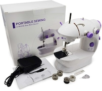 Wonder World Portable Swing Electric Sewing Machine (White)