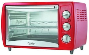 Prestige POTG 19 PCR 19 L Oven Toaster Grill (Red)
