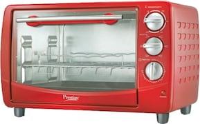 Prestige POTG 28 PCR 28 L Oven Toaster Grill (Red)