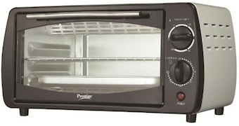 Prestige POTG 9 PC 9 L Oven Toaster Grill (Grey)