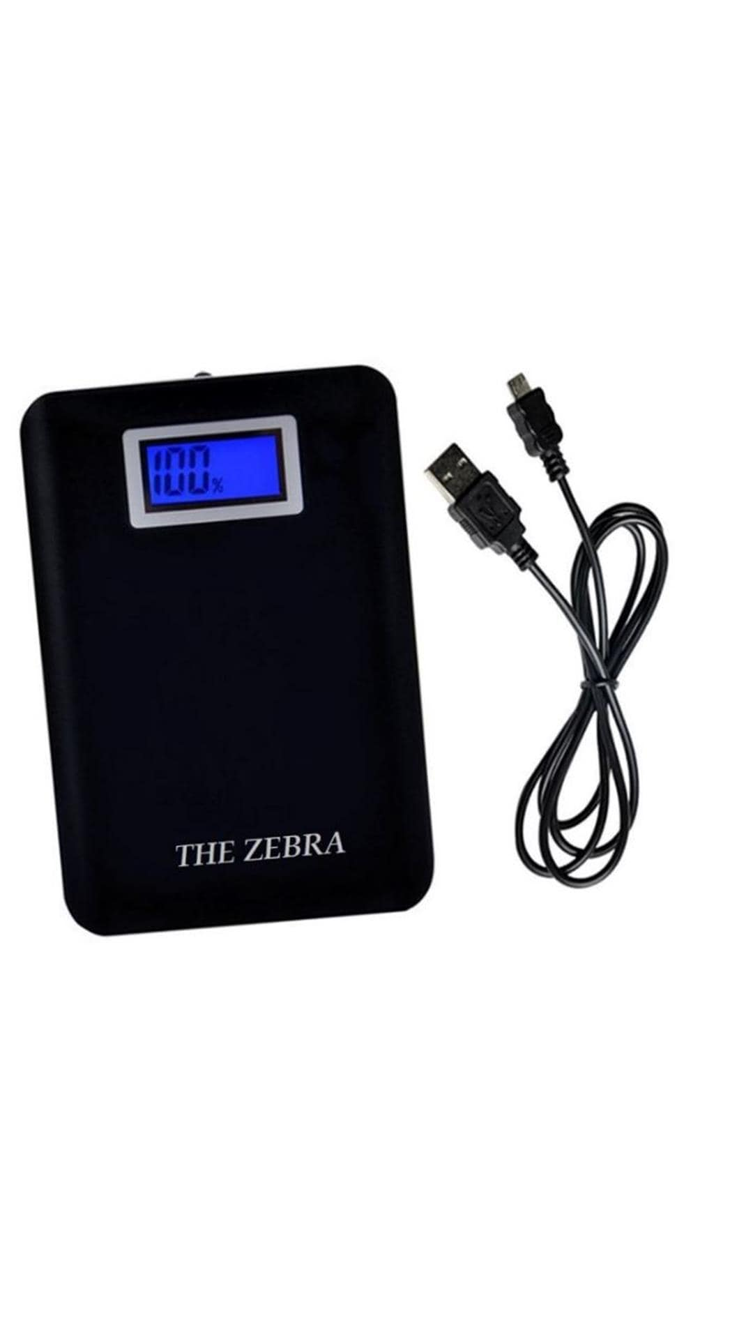 The Zebra 15000 MAh Power Bank (Black, EST-001-XY-060)