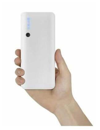 Fedito 15000 MAh Power Bank (White, P3-15000)
