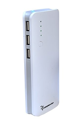 Lappymaster 13000 MAh Power Bank (White, PB-060GY)