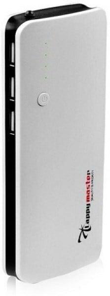 Lappymaster 11000 MAh Power Bank (White, PB-062BL)