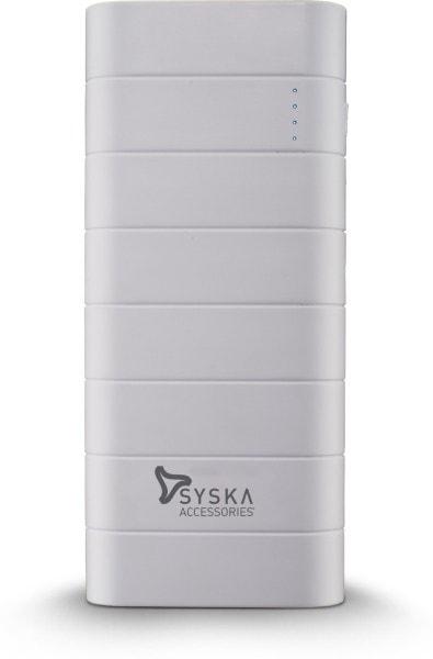Syska 10000 MAh Power Bank (White, Power Boost 100)