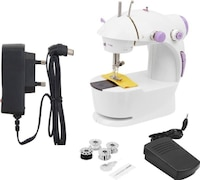 Benison India Powerstitch Portable Electric Sewing Machine (White)