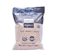 Bytewise Organic Premium Brown Basmati Rice (Brown, 5KG)