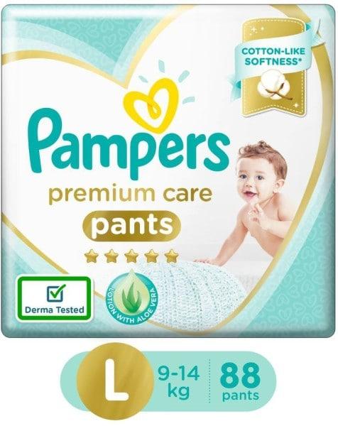 Pampers Premium Care Pants Diapers (88 PCS, L)