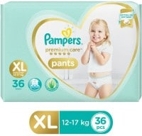 Pampers Premium Care Pants Diapers (36 PCS, XL)