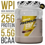 Bigmuscles Nutrition Premium Gold Whey Protein Powder (1KG)