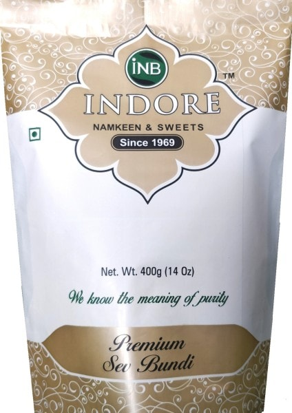 INB INDORE Premium Sev Bundi Namkeen (400GM)