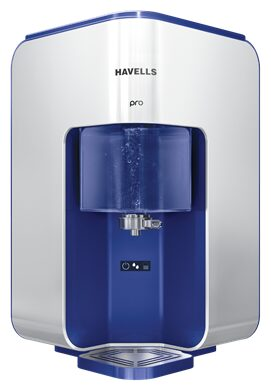 Havells Pro 8L RO+UV Water Purifier (Blue & Silver)