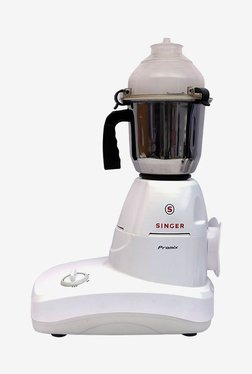 Singer Promix 750W Mixer Grinder (White, 3 Jar)
