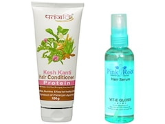 Patanjali Protein Conditioner & Pink Root Hair Serum (Pack of 2)