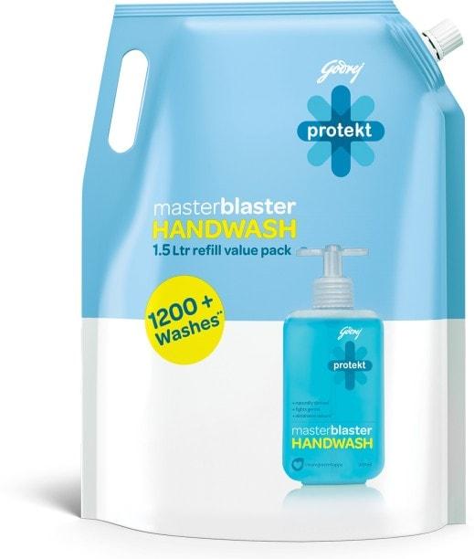 Godrej Protekt Master Blaster Handwash (1500ML)