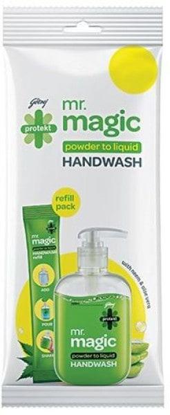Godrej Protekt Mr. Magic Powder to Liquid Hand Wash (20ML)