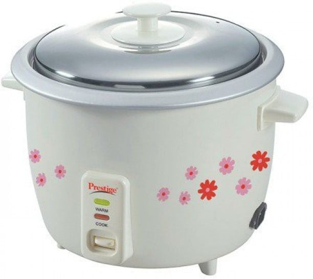 Prestige PRW 1.8 L Rice Cooker (White)